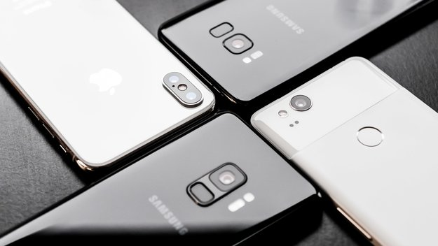 Samsung Galaxy S9, S8, iPhone X und Google Pixel 2 im Kameravergleich
