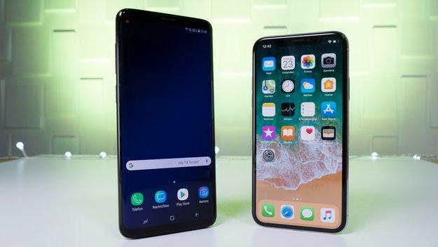 Knaller! Galaxy S9 (Plus) oder iPhone X mit Vodafone-Vertrag zum Spitzenpreis