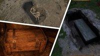 Kingdom Come Deliverance: Alle Höhlen, Gräber, Unfallorte, Waldgärten - Fundorte auf der Karte