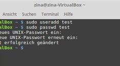 Linux: create, change, remove user – so geht's