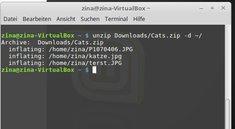 Linux unzip: ZIP-Dateien entpacken per Terminal – so geht's