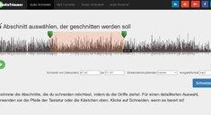 MP3 schneiden: Online hochladen und bearbeiten – so geht's