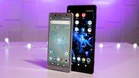 Sony Xperia XZ2 und XZ1: Besitzer klagen über kurioses Display-Problem