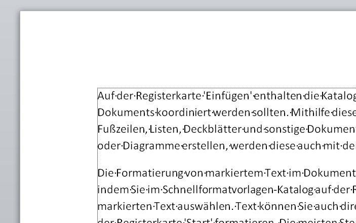Word Seitenrand Einstellen Und Anzeigen Lassen So Gehts