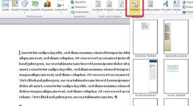 Hintergrundbild in word dokument einfugen