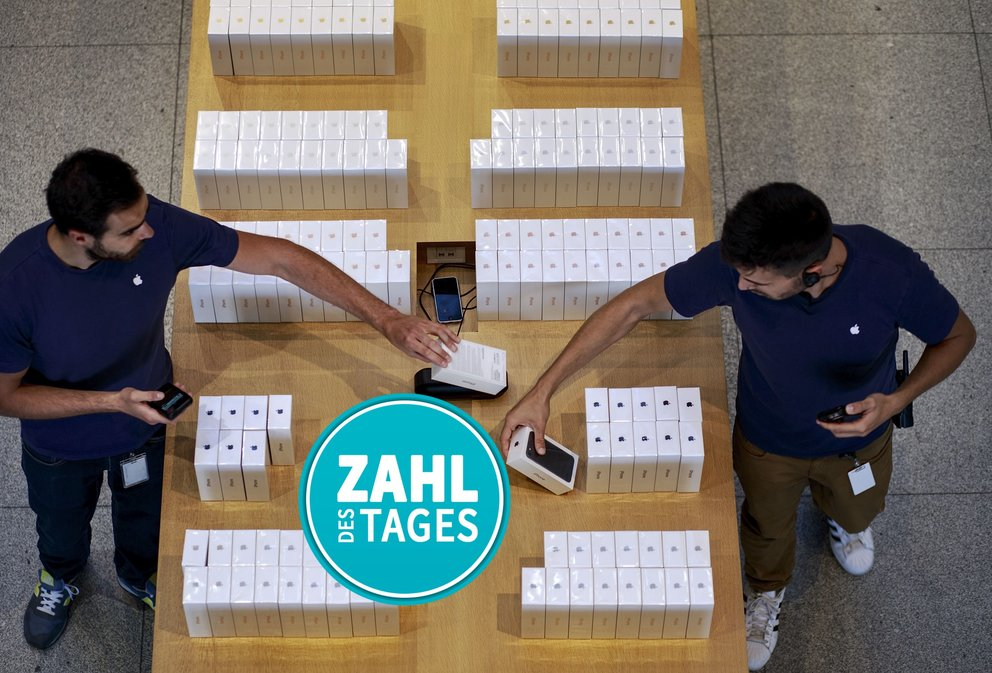 Wohlstandsgesellschaft: Die Handys in unseren Schubladen – Zahl des Tages