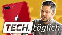 Rotes iPhone 8 ist da, Gadget kann Gedanken lesen und Surface Laptops günstig – TECH.täglich