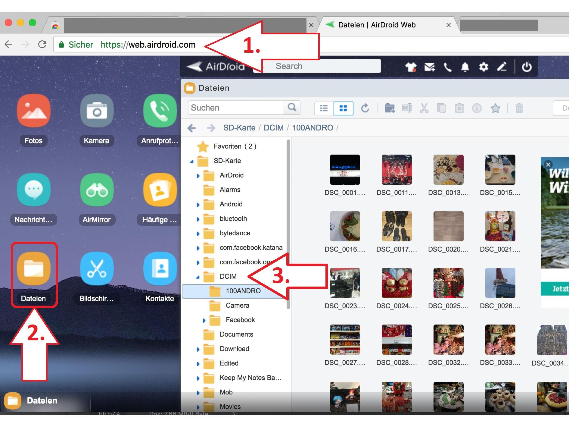 fotos von android auf mac bertragen so sendet ihr eure bilder an macos ger te giga. Black Bedroom Furniture Sets. Home Design Ideas