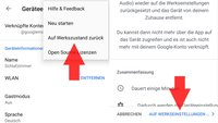 Chromecast per Home-App zurücksetzen (bebilderte Anleitung)