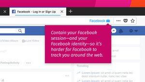 Facebook Container für Firefox