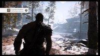 God of War: Schwarzen Balken entfernen - so geht's