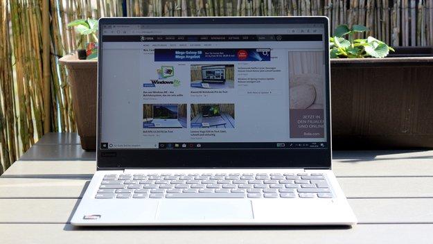 Lenovo IdeaPad 720s (Ryzen 7) im Test