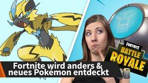 Die News der Woche: Fortnite wird anders, neues Pokémon entdeckt und mehr