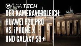 Der Kameravergleich: Huawei P20 Pro v...