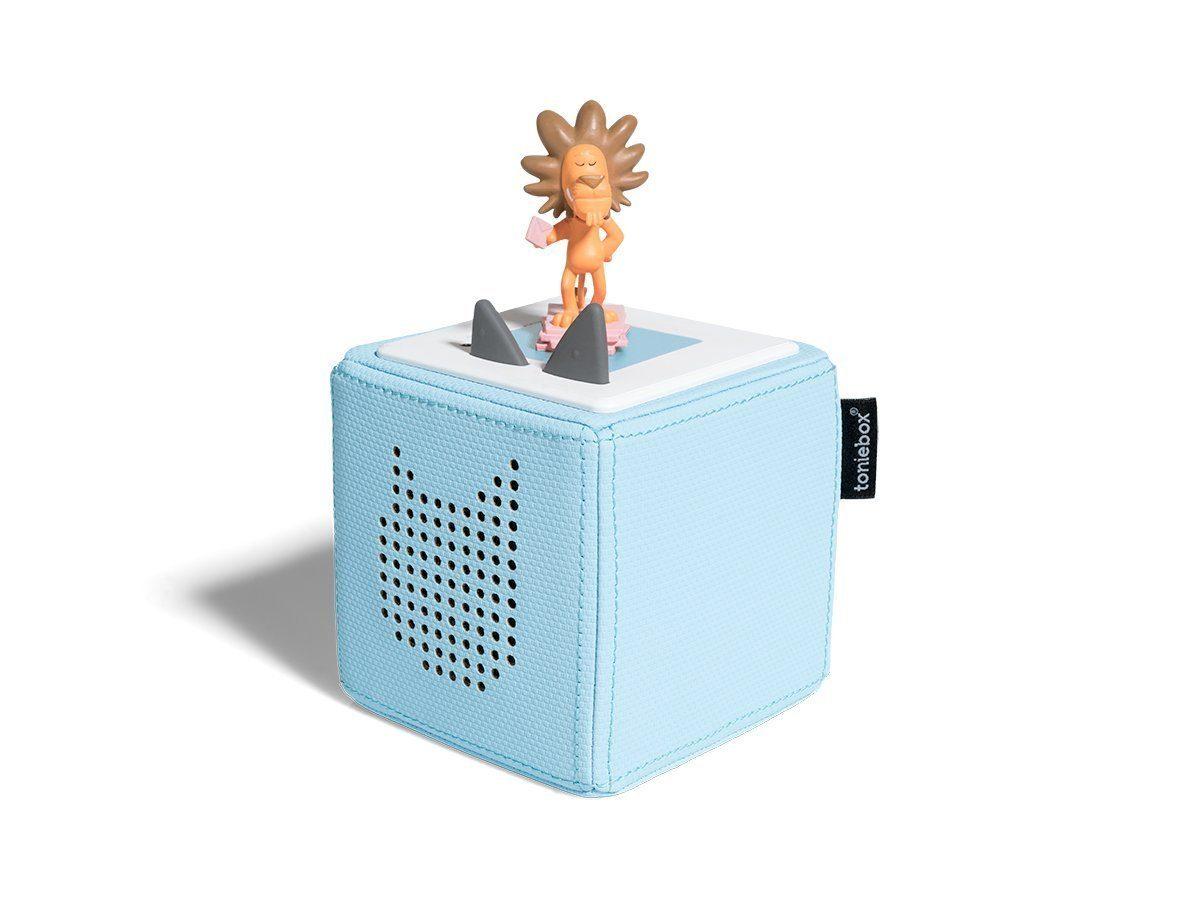 Toniebox leuchtet blau