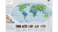 Weltkarte zum Ausdrucken