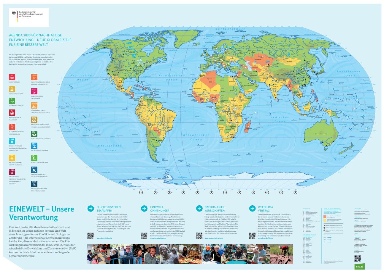 Weltkarte zum Ausdrucken Download – GIGA