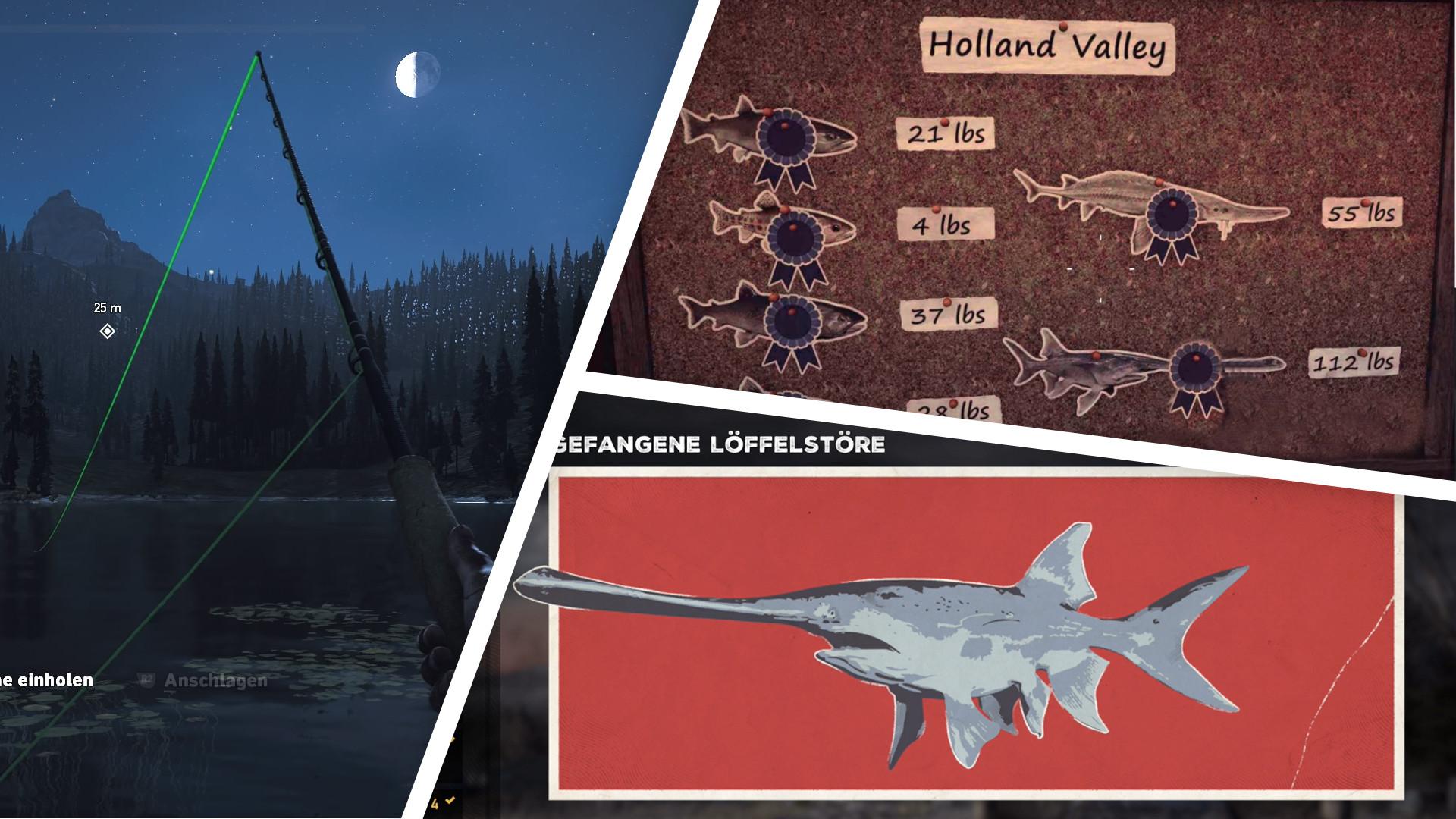 Far Cry 5 Wolfsköder Karte.Far Cry 5 Angeln Rekorde Köder Und Alle Angelplätze