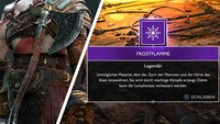 God of War: Axt maximal verbessern - Frostflammen-Fundorte