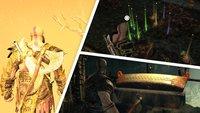 God of War: Alle Ressourcen - Fundorte für Materialien