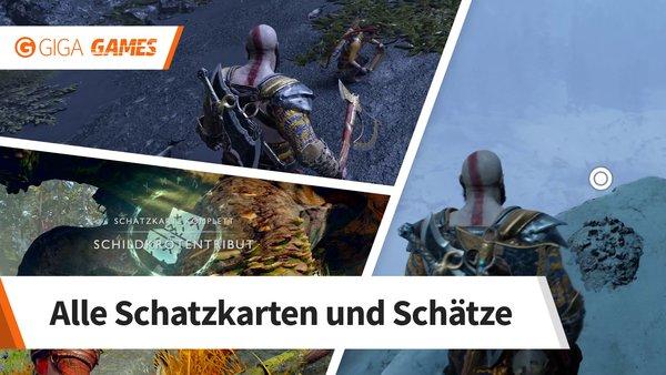 God Of War Schatzkarten Fundorte Aller Schätze Im Video Giga