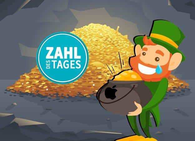 Topf voll Gold für Irland: Apple zahlt Steuern in Milliardenhöhe nach