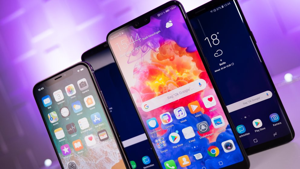 Akkulaufzeit im Vergleich: Huawei P20 Pro vs. iPhone 8 Plus, Galaxy S9 Plus und Co.