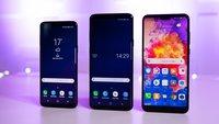 Huawei P20 Pro vs. Samsung Galaxy S9 Plus: Vergleich der Android-Schlachtschiffe
