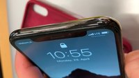 iPhone X: Edelstahlrahmen reibt sich ab