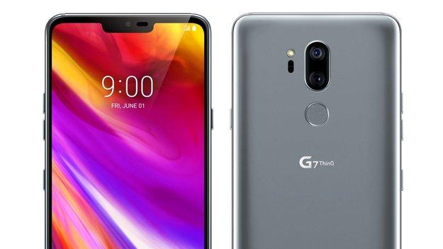 LG G7 ThinQ: Finales Design des Galaxy-S9-Herausforderers geleakt