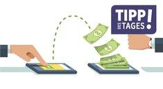 PayPal: Geld kostenlos an Freunde senden – so geht's