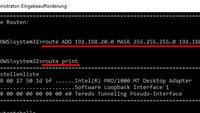 Windows: Statische TCP/IP-Route zu Routing-Table adden – so geht's