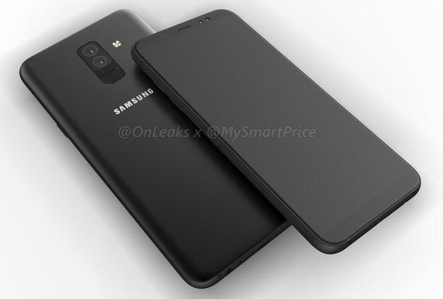 Luxus-Optik für die Mittelklasse: So sehen das Samsung Galaxy A6 und A6 Plus aus