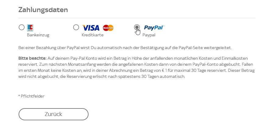 Sky Ticket Mit Paypal Zahlen So Gehts Auch Bei Problemen Giga