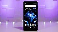 Sony Xperia XZ3: Das kann es – und so viel wird es kosten