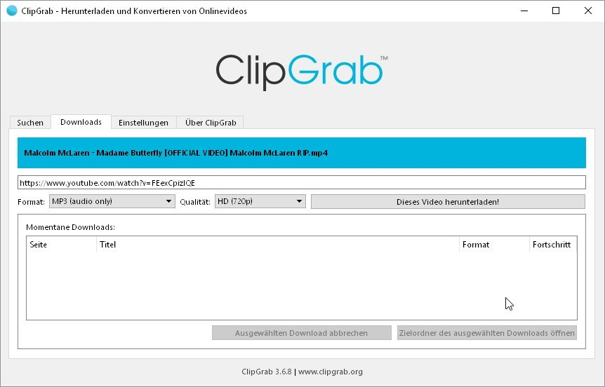 video-zu-mp3-clipgrab