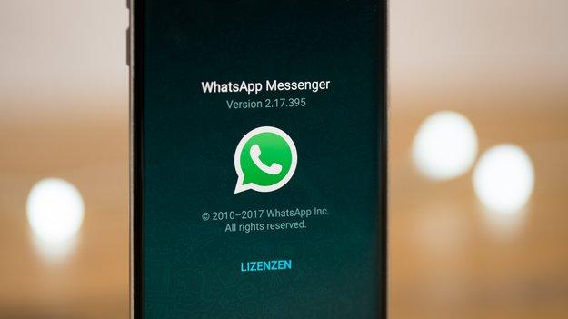 WhatsApp: Account-Info anfordern – so geht's