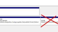Windows 10: Wiederherstellungspartition löschen – so geht's