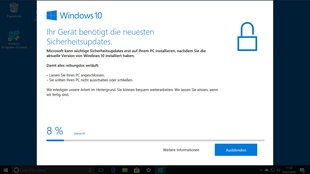 Lösung – Windows 10: Your device needs the latest security updates