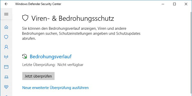 Der Windows Defender in Windows 10 – reicht das?