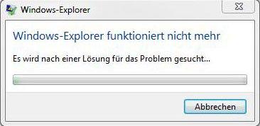 Windows 10 Explorer Stürzt Ab