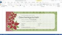 Die besten Word-Vorlagen für Weihnachten downloaden
