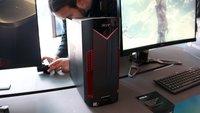 Acer Nitro 50 vorgestellt: Preiswerter Gaming-PC mit massig Leistung