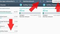 Android RAM-Management: Arbeitsspeicher anzeigen und frei machen