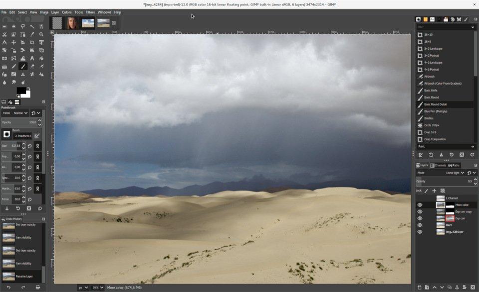 GIMP 2.10: Großes Update für Open Source-Bildbearbeitung erschienen