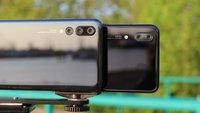 Huawei P20 Pro vs. P20: Triple- und Dual-Kamera im ultimativen Vergleich
