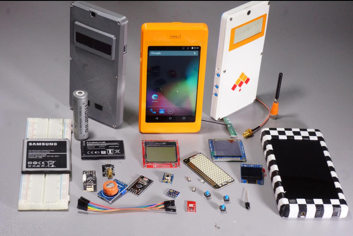 Favorit Smartphones selber bauen – in 5 Minuten! AL18