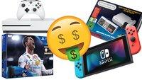 Krasse Aktion bei Saturn: Nintendo Switch, PS4, Xbox Games & Konsolen zum Knallerpreis!