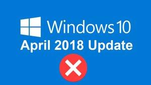 Windows-10-April-2018-Update: Bluescreen-Probleme treten auf
