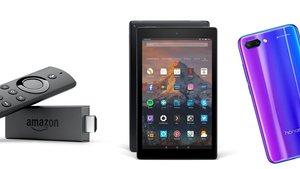 Amazon-Angebote: Amazon Fire TV mit 4K, Fire Tablet, Honor 10 und mehr